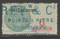 France and Colonies revenue Fiscal stamp 11-9-20 Guadeloupe