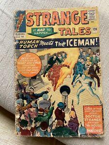 Strange Tales 120 1964. Kirby Art