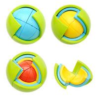 3D Puzzle Assembly Wisdom Ball Educational Toy DIY Magic Assembling Maze Ball