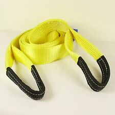 Recovery Winch 4x4 Tow Snatch Strap 4 Meter  Tow Rope 13.5Ton Towing Offroad