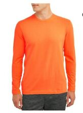 Athletic Works Mens Performance Long Sleeve Tee size 2XL color Red Crew Neck NWT