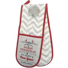 Vintage Christmas Double Oven Glove
