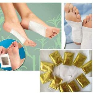 10x Fußpflaster Toxine Patches Detox Pflaster Entgiftung Foot Pads Fusspflaster