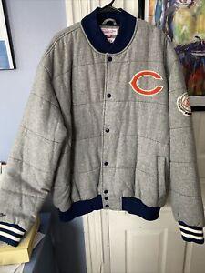 Chicago BEARS Throwbacks League Champion Jacket. Men Size XXXL. Mitchell & Ness