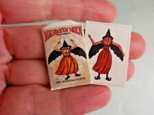 DOLLHOUSE MINIATURE ~ HALLOWEEN ~ HORRIBLE WITCH SET