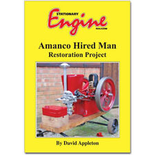 Stationary Engine Book - Amanco Hired Man Restoration Project
