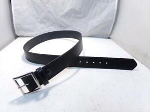 "K52D GALLS Size 32"" Chrome Buckle 1.75"" Black Lined Deluxe Garrison or Gun Belt"