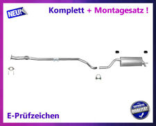 Auspuffanlage Fiat Grande Punto / Punto Evo 1.4 55/57KW Auspuff Montagesatz