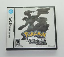 Nintendo DS Working and Comlete Game Pokemon White Version R10705