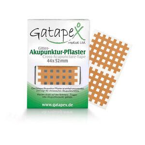 Gatapex Akupunkturpflaster Form: Gitter 40 Stück Hautfarbe ( 4,4 cm x 5,2 cm )
