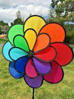 Double Wheel 16-Petal Flower Garden Spinner (Big)
