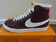 Women's Nike Blazer Trainers Size EU 37 UK 4 Burgundy Pink
