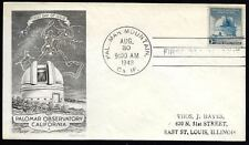 Aug 30 1948 Palomar Mountain Observatory California Cover.