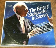 The Best of Stokowski in Stereo (Bach DeBussy etc) Capitol FDS SP8673 VG
