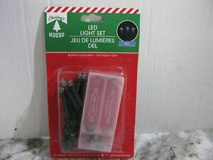 NEW MINI Battery LED STRING FAIRY LIGHTS Fall Halloween Christmas Heart Shamrock