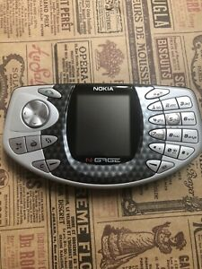 🕹 🎮 Nokia N-Gage Silver Excellent Condition Smartphone For Games Retro Rare