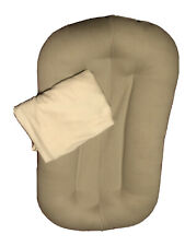 Snuggle Me Organic Lounger Bundle (Includes Cover) - Barely used!