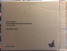 1/6 The Dark Knight Batman Armory with Alfred Pennyworth Hot Toys BOX ONLY JC