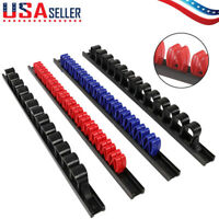 4pcs Industrial ABS Tool Rail Rack Holder Wrench Screwdriver Organizer Wall