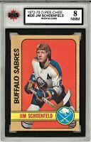 1972-73 O-Pee-Chee #220 Jim Schoenfeld RC Grade 8.0 NMM (062319-46)