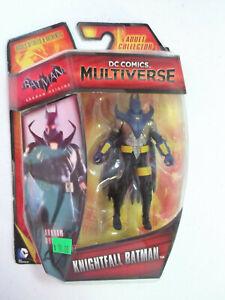 "DC COMICS 2015 MULTIVERSE ARKHAM ORIGINS KNIGHTFALL BATMAN 4"" Figure NEW!"