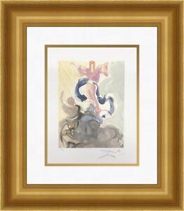Salvador Dali - Piccarda Donati  Divine Comedy Custom Framed Print FREE SHIPPING