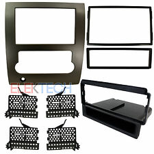 Radio Replacement Double-DIN w/Pocket Dash Mounting Install Kit for Nissan Titan