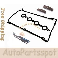 F012 Fits AUDI VW 1.8L Camshaft Timing Tensioner Pad W/ Valve Cover Gasket Set
