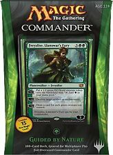 Commander 2014 Deck Guided By Nature (ENGLISH) FACTORY SEALED NEW MAGIC ABUGames