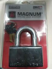"MAGNUM MASTER High Security Padlock 16mm / 5/8"" Business Container Mul T Lock"
