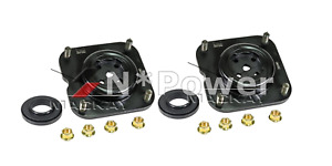 MACKAY RUBBER FRONT STRUT MOUNT X2 FOR Ford Laser Mazda 323 Astina 323 Protege