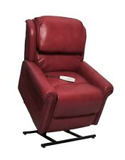 Mega Motion Uptown Three-Position Reclining Lift Chair - Red