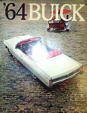 1964 Buick Sales Brochure Literature Dealer Advertisement Features Options Color