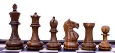 "Fierce Series Staunton 3"" Golden Rose Wood Chess Pieces"