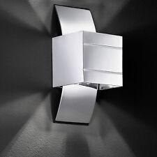 Wofi Wandleuchte Via 1-flg Chrom Modern Stylisch Leuchte Lampe 33 Watt 460 Lumen