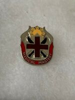 Authentic US Army 6th General Hospital Unit DI DUI Crest Insignia 22M
