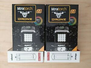 Litra Torch 2.0 Drone Edition Photo and Video Light Light #LT2202DRONE | 2-Pack