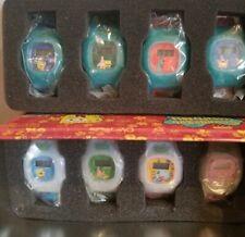 RARE MIP COMPLETE SET OF 8 Kelloggs Spongebob Squarepants Watches COLLECTORS TIN