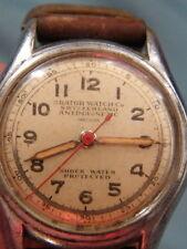 Orator WATCH CO,années 1940,Fab Suisse,Antimagnetic,numéroté,et à réviser,n°159.
