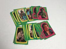 Incredible Hulk TV show 22 card sticker set Topps 1979
