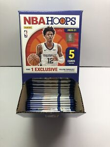 2020-21 Panini NBA Hoops Gravity Feed Full Box Dollar Tree 48 PACKS!