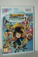 ONE PIECE UNLIMITED CRUISE 1 GIOCO USATO NINTENDO Wii EDIZIONE ITA PAL ML3 52906