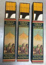 Nice Vintage Case of 36 Dixon's Typhonite Eldorado Drawing Pencils Unused 5B