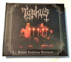 Typhus – Profound Blasphemous Proclamation CD digibook ltd. 100 copies w/ extra
