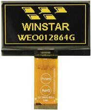 OLED Graphic Display Module, 128x64, White - WINSTAR