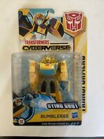 Transformers Cyberverse Sting Shot Bumblebee Action Attackers Warrior Class