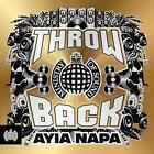 MINISTRY OF SOUND THROWBACK AYIA NAPA - V/A 3CDs (NEW/SEALED)