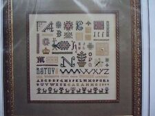 The Drawn Thread TOCCATA #2 Cross Stitch Needlework Pattern w/Gold Beads Heart