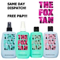 THE FOX TAN Rapid Tanning Mist Elixir Tan Sealer Tan Accelerator *FULL RANGE*