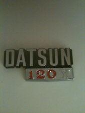 Datsun 120Y  badge , emblem , new genuine